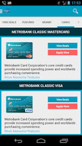 metrobank card android apps on google play