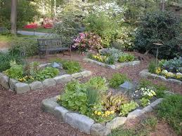 dazzling cottage vegetable garden design pretty organic vegetable