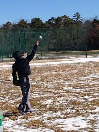 baseball practice in the snow u2013 cashmere miles