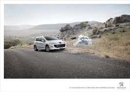 peugeot 308 touring print ad peugeot 308 touring cloud