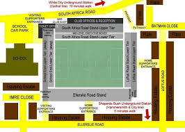 Ellis Park Floor Plan Loftus Road Stadium Queens Park Rangers Fc Football Ground Guide