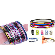 nail art striping tape compare prices on rolls striping tape line nail art decoration