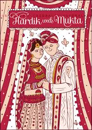 Punjabi Wedding Cards Scd Balaji Quirky U0026 Creative Indian Wedding Invitations