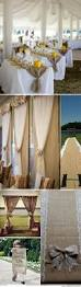 Colored Burlap Curtains Best 25 Burlap Wedding Arch Ideas On Pinterest Rustic Wedding