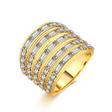 wedding design rings images Multilayer design wedding bands rings for couples party gift 20mm jpeg