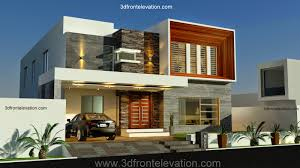 3d front elevation com new 1 kanal contemporary house design in