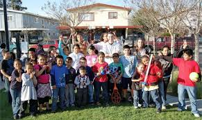 on the run comes into neighborhoods to serve children