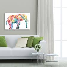 amazon com portfolio canvas decor elephant gum by varela