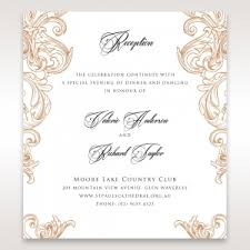 Wedding Reception Card Wedding Stationery U2013 Reception Cards By B Wedding
