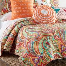 Swirly Paisley Duvet Cover Palazzo Paisley Quilt Collection Bed From Stein Mart Dream