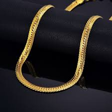 chain necklace hip hop images Male hiphop thick gold chain link necklace brand snake gold jpg