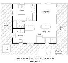 small beach house floor plans sb024 beach house on the moon floor plan level 3 0 jpg midgett