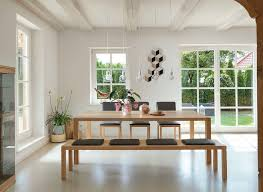 solid wood dining benches team 7
