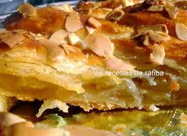 cuisine de ratiba feuilletée tréssé aux pommes le de recette de ratiba gâteaux