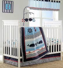 vintage ocean theme nursery ideas for a baby beach boy