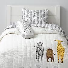 savanna toddler bedding zebra the land of nod