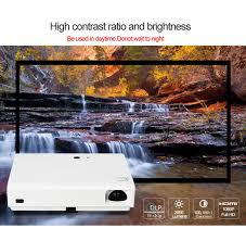 amazon com laser projector cre x3001 dlp home theater wifi