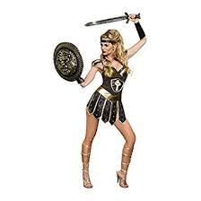 amazon warrior amazon com dreamgirl women s queen of swords warrior costume clothing