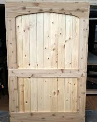 Pine Barn Door by D U0026 M Woodworks Custom Pine And Cedar Barndoor
