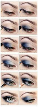 how to do blue smokey eyes diy makeup by makeup tutorials