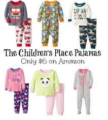 children s place pajamas only 6