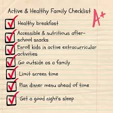 how to keep your family active healthy this school year jolly