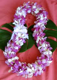 Hawaiian Leis Lavender Leis Made In Hawaii From Fresh Orchids For Graduation