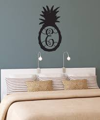 zulily home decor metal unlimited black initial pineapple décor zulily