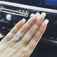heart shaped diamond engagement ring the best engagement rings of all time vogue