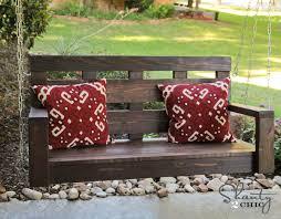 Swing Bench Plans Porch Swing Diy Shanty 2 Chic