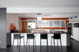 Modern Kitchen Range Hoods - modern range hood kitchen contemporary with accent wall burnt