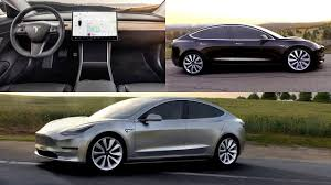 tesla model 3 2018 tesla model 3 interior exterior and drive youtube