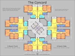 the concord floor plan plan elevation section and detail