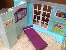 2007 barbie doll my house playset fold up dollhouse kitchen