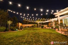 Wedding In Backyard by Backyard Wedding Reception Amber Uplights U0026 Market Lights