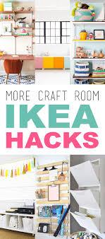 ikea hacks storage more craft room ikea hacks the cottage market