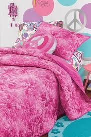 Girls Peace Sign Bedding by Peace U0026 Love Reversible Comforter Emily Pinterest Love