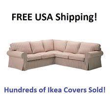 3 Seat Sectional Sofa Ikea Ektorp Mobacka Beige 3 Seat Sofa Slipcover Ebay