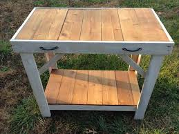 Upcycled Console Table Diy Whitewashed Pallet Console Table Pallet Furniture Plans