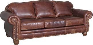 Leather Sofa Loveseat by Mayo Leather Upholstery