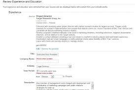 Profile In Resume Linkedin Tutorials How To Set Up A Profile Part Ii Zen And The