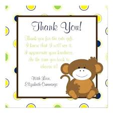 sles of thank you notes thank you note wording for baby shower gift image bathroom