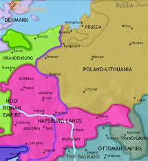 Map Of Cold War Europe by Polish Genealogical Society Of California Maps