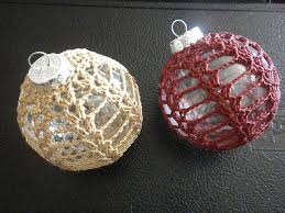 12 free ornament crochet patterns crocheted