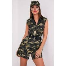 Halloween Costumes Army Womens Army Military Cadet Halloween Costume Product