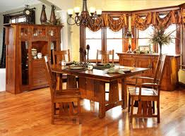 mission style dining room set and vintage 5 pieces mission style dining room sets with