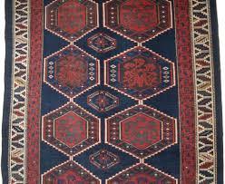 Kuba Rug Antique Caucasian Kuba Shirvan Rug With Shrub Design Late 19th