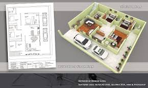3d Office Floor Plan More Bedroom 3d Floor Plans Arafen