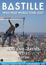 Bastille Bad Blood Bastille U201cwild Wild World Tour U201d In Boston At Agganis Arena