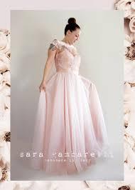 sale tulle wedding dress pink white black lace bodice bridesmaid